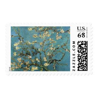 Ramas de un árbol de almendra Vincent van Gogh Sello