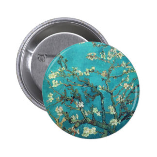 Ramas de Van Gogh con el botón del flor de la alme