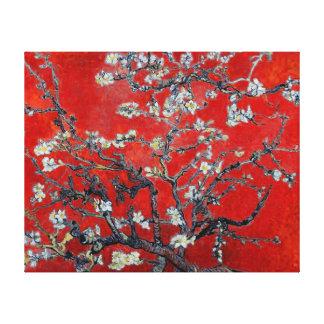 Ramas de Vincent van Gogh con el flor de la almend Impresion En Lona