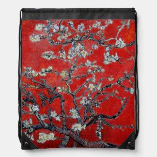 Ramas de Vincent van Gogh el | con el flor de la a Mochila