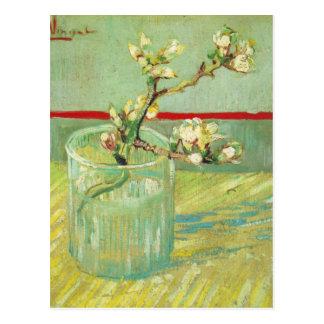 Ramas del flor de la almendra de Van Gogh en un de Tarjetas Postales