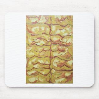 Ramas desnudas del árbol (expresionismo abstracto) alfombrillas de raton