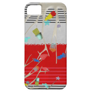 Ramas felices funda para iPhone 5 barely there
