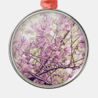 Ramas florales en colores pastel suaves ornamentos de reyes magos