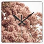 Ramas florales relojes
