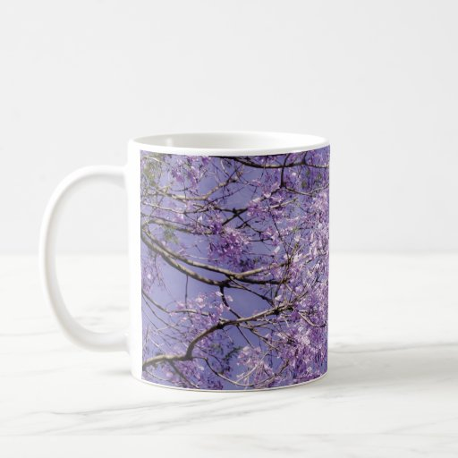 Ramas florales taza