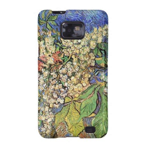 Ramas florecientes de las castañas, Van Gogh Samsung Galaxy SII Funda