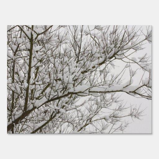ramas nevadas carteles