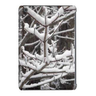 Ramas nevadas fundas de iPad mini