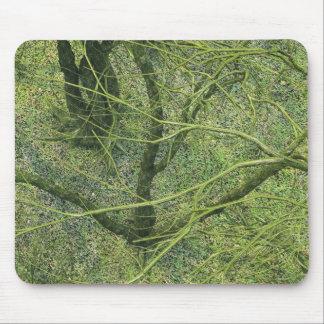 Ramas verdes alfombrillas de ratón