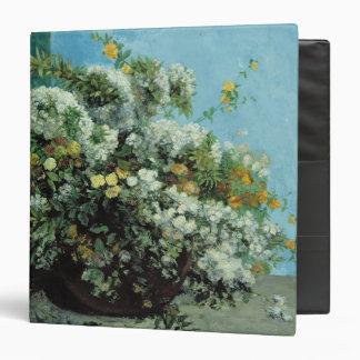 """Ramas y flores florecientes, 1855 carpeta 1 1/2"""""""