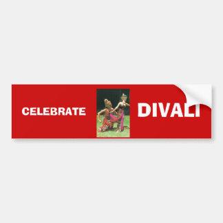 Ramayana Dancers, Hindu traditional dancers Car Bumper Sticker