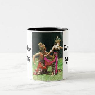 Ramayana Dancers, Hindu traditional dancers Coffee Mugs