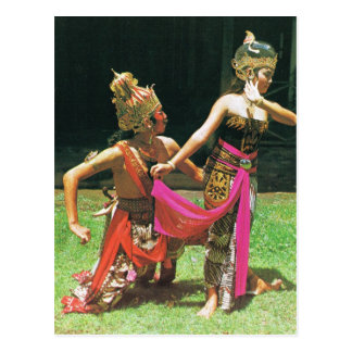 Ramayana Dancers, Hindu traditional dancing, Postcards
