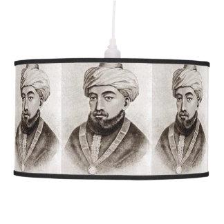 Rambam AKA Maimonides 1135 - 1204 Pendant Lamp