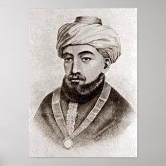 Rambam AKA Maimonides 1135 - 1204 Póster
