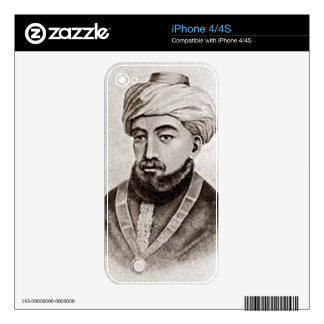 Rambam AKA Maimonides 1135 - 1204 Decal For The iPhone 4