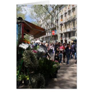 Rambla, Barcelona Greeting Card
