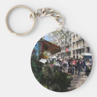 Rambla, Barcelona Llaveros Personalizados