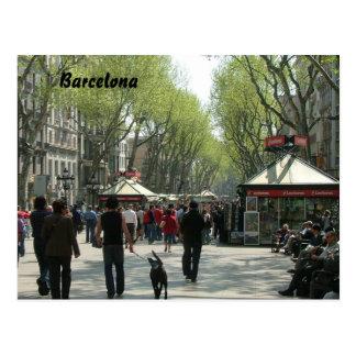 Ramblas Postcard