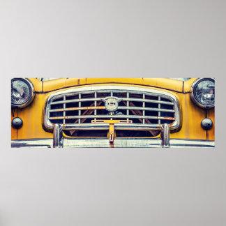 Rambler amarillo de Nash Poster