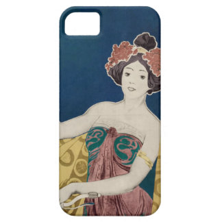 Rambler Bicycle Woman Graphic Bold Color Bikes iPhone 5 Cover