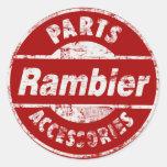 RAMBLER PARTS DISTRESSED STICKER