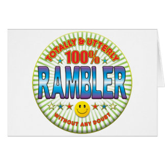 Rambler Totally Greeting Card