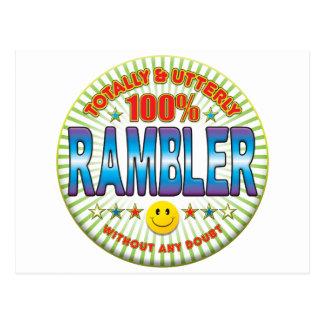 Rambler Totally Postcard