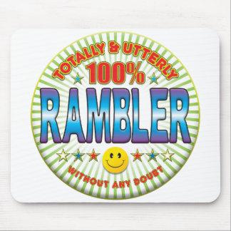 Rambler totalmente tapetes de ratones