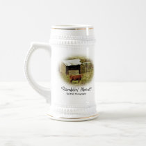 """""""Ramblin' About"""" Beer Stein"""