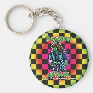Ramblin Goblin 8bit Keyring (Ben) Basic Round Button Keychain