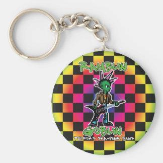 Ramblin Goblin 8bit Keyring (Screech) Basic Round Button Keychain