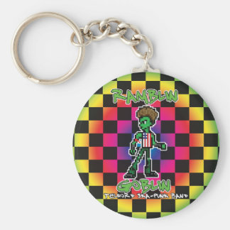 Ramblin Goblin 8bit Keyring (Tony) Basic Round Button Keychain