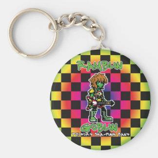 Ramblin Goblin 8bit Keyring (Wookiee) Basic Round Button Keychain