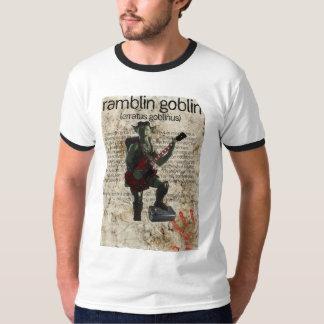 Ramblin Goblin Poster-Style Ringer Tee