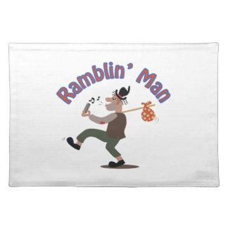Ramblin Man Cloth Placemat