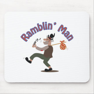 Ramblin Man Mouse Pad