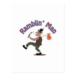 Ramblin Man Postcard