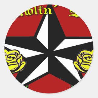 Ramblin Rose Sticker