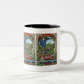 Rambling on the Avalon Way Two-Tone Coffee Mug