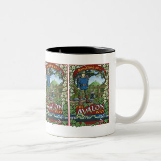 Rambling on the Avalon Way Two-Tone Coffee Mug