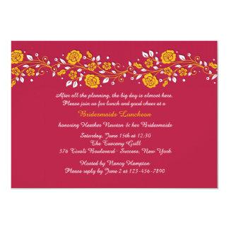 Rambling Rose Invitation