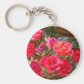 rambling roses keychain