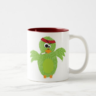 Rambovogel Two-Tone Coffee Mug