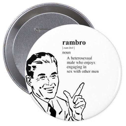 RAMBRO 4 INCH ROUND BUTTON