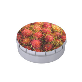 Rambutan Tropical Fruit Jelly Belly Candy Tins