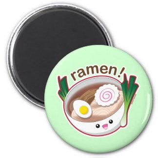 Ramen! 2 Inch Round Magnet