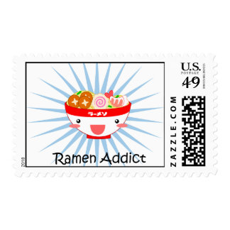 Ramen Addict Stamp