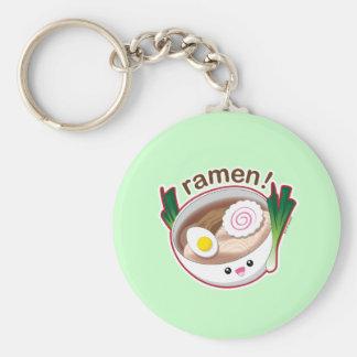 Ramen! Basic Round Button Keychain